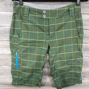 Columbia Plaid Women's Hiking Shorts
